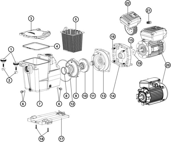 SP1608XE11 Pump