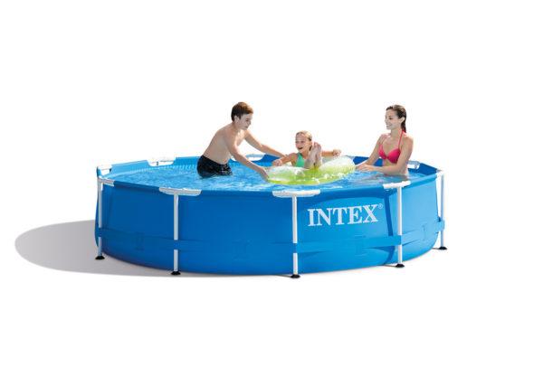 Plastica metal frame Pool 10″x30″
