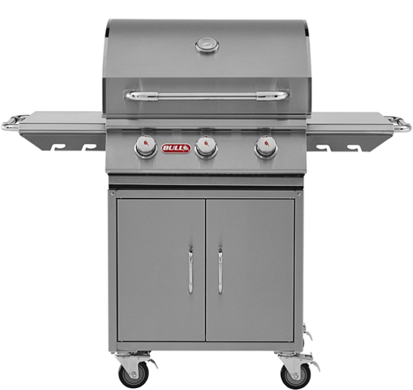 Bull Steer Premium Charcoal Grill inc Cart