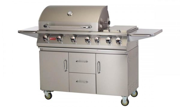 Bull 7 Burner Premium Gas BBQ Closed