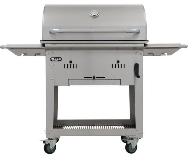 Bison Charcoal BBQ inc Cart