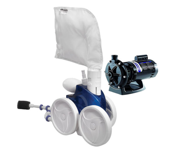 Polaris VAC-SWEEP 380 with Booster Pump
