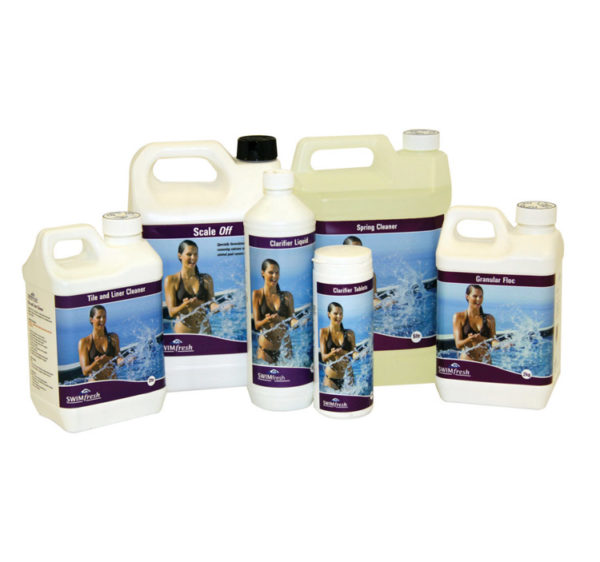 swimfresh cleaning range
